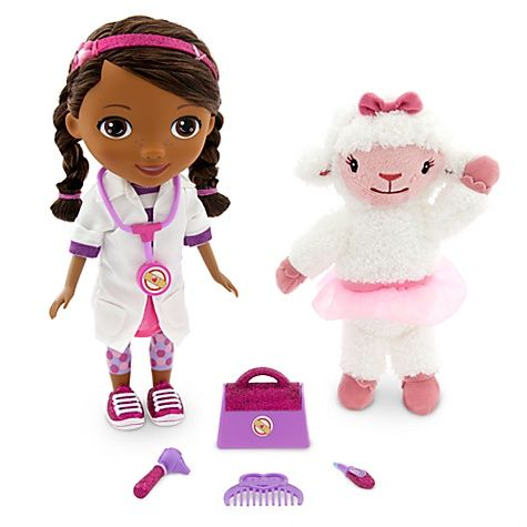 Doc McStuffins :) I've gotta find this for her!!! If anyone runs across one between now and Christmas PLEASE let me know. The price should be $39.99 but due to high demand people are selling them for waaay more!