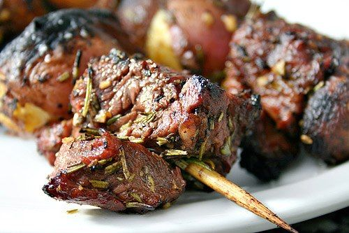 Rosemary Ribeye and Mushroom Skewers | Andover Diet Center| Ideal Protein of Andover