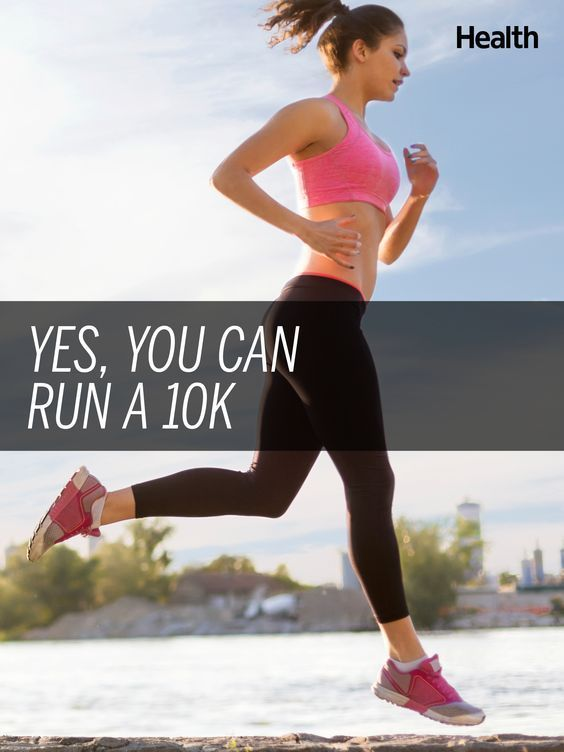 Training for a 10K race? You can do it! Here's how to get started and work your way up to 6.2 miles | Health.com