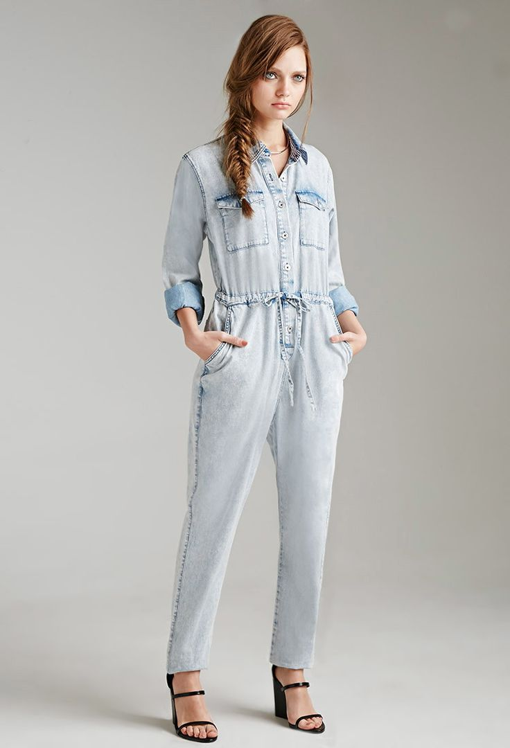 19 best Denim Jumpsuit images on Pinterest | Denim jumpsuit, Best ...