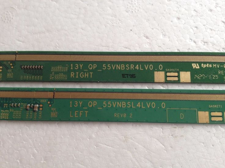 23.28$  Watch here - 13Y_QP__55VNBSR4LV0.0 13Y_QP__55VNBSL4LV0.0 LCD Panel PCB Parts A Pair  #buymethat
