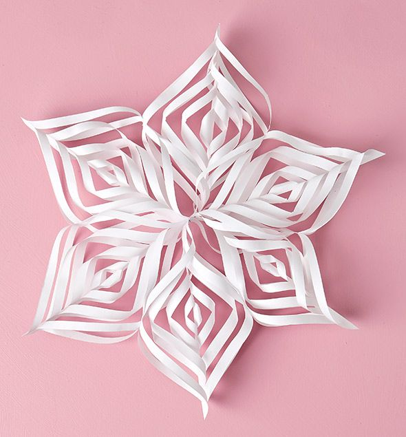 DIY Christmas ornament: paper star