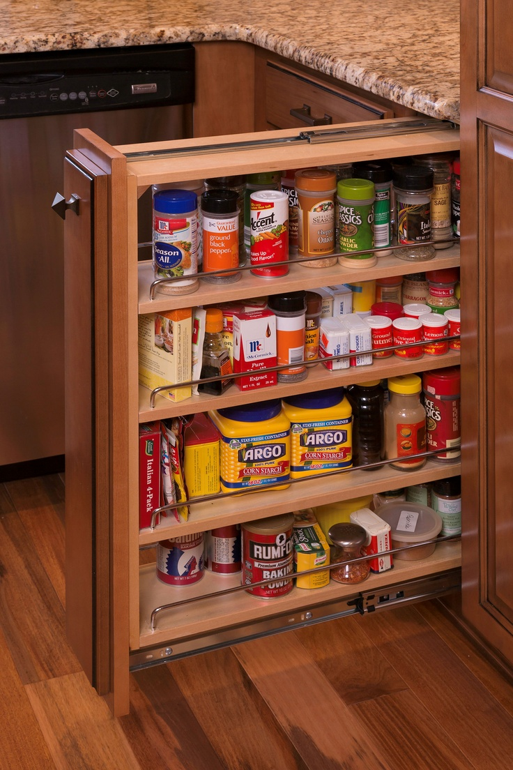 Pull Out Spice Rack Upgrades Pinterest Stove Spice