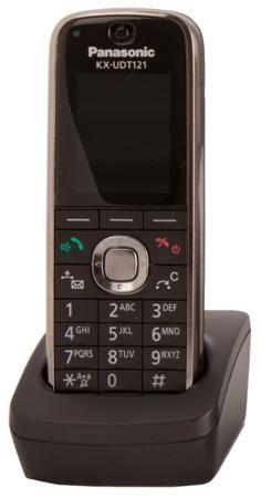 Panasonic KX-UDT121RU - SIP-DECT-телефон (Black)  — 15990 руб. —  Беспроводной VoIP телефон