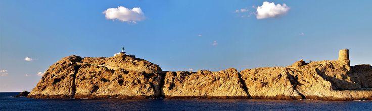 L'Île-Rousse (Corsica) - L'îlot de la Pietra
