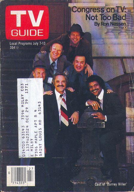 """Cast of """"Barney Miller"""" - July 7, 1979"""