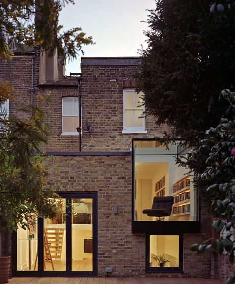 cabbagerose:    private residence, london/coup de ville architects