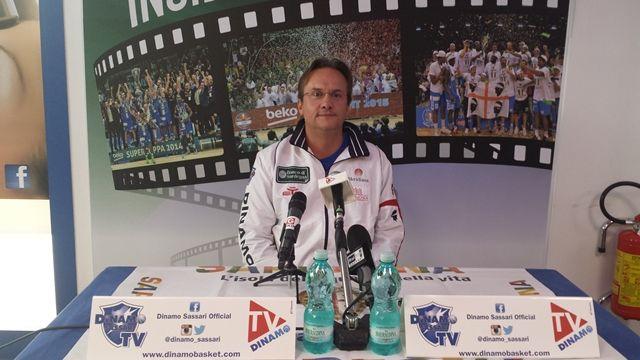 Dinamo Sassari: le parole di coach Pasquini in vista del debutto in campionato