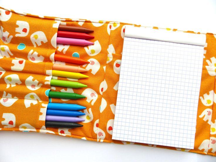 Petite pochette d'artiste, avec crayons et bloc : Ecole et loisirs par polinka68