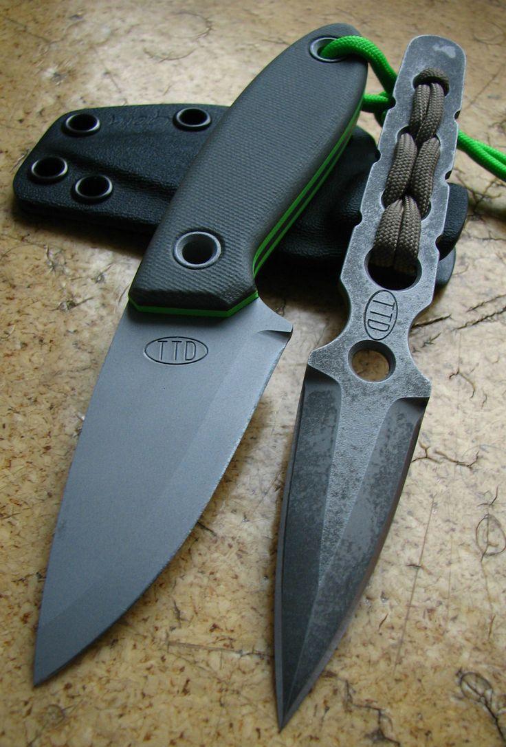 Fotogalerie - vyráběné nože pro out door
