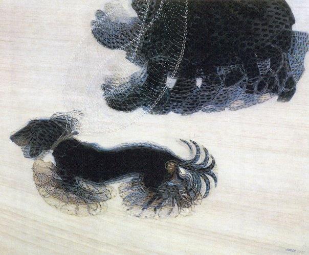 "Giacomo Balla's ""Dynamism of a Dog on a Leash"" (1912)"
