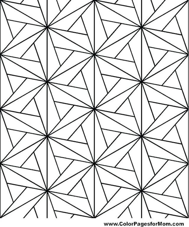 Printable Geometric Coloring Pages Geometric coloring