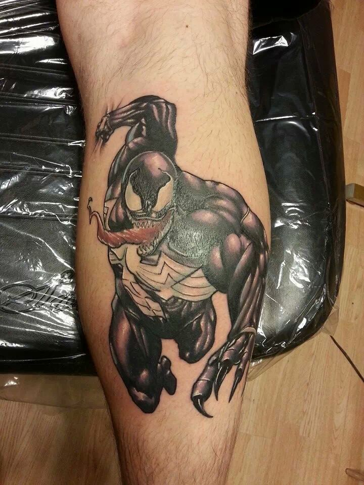 The gallery for marvel venom tattoo for Marvel comics tattoos