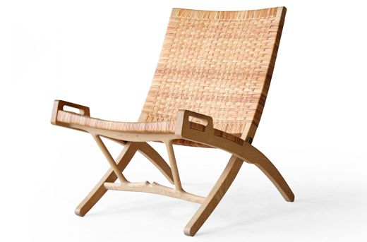 Hans Wegner PP512 PP Møbler Folding Ash Easy Chair