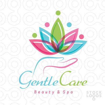 Exclusive Customizable Logo For Sale: Lotus Pyramid Care | StockLogos.com