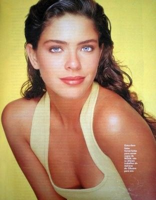 Brasilian model Adriana de Oliveira
