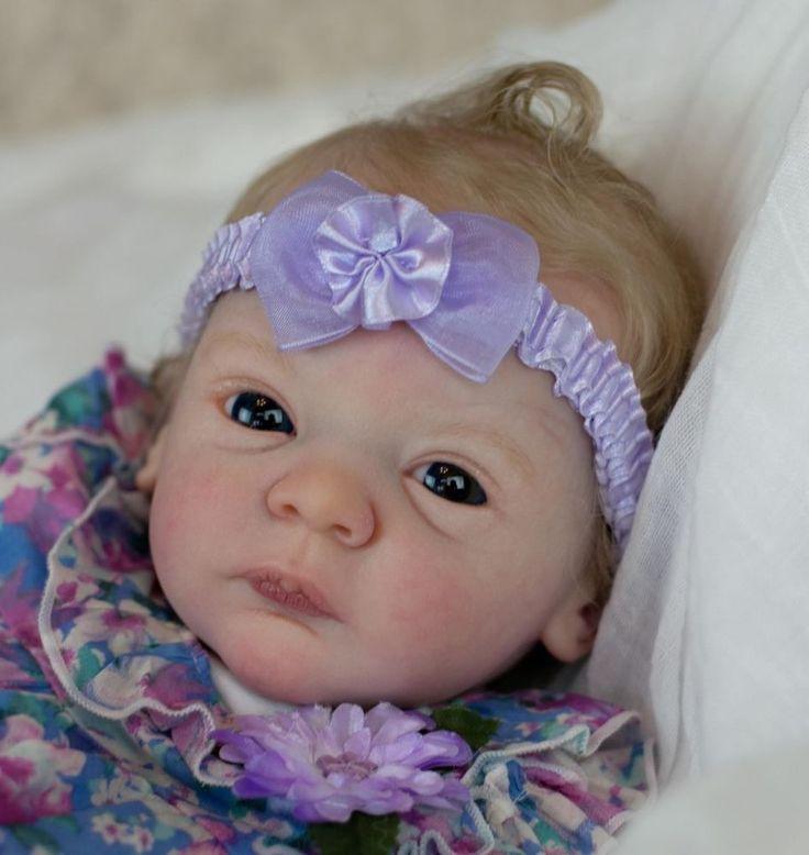 AMAZING REBORN BABY GIRL LINDEA BY GUDRUN LEGLER NOW AVERY