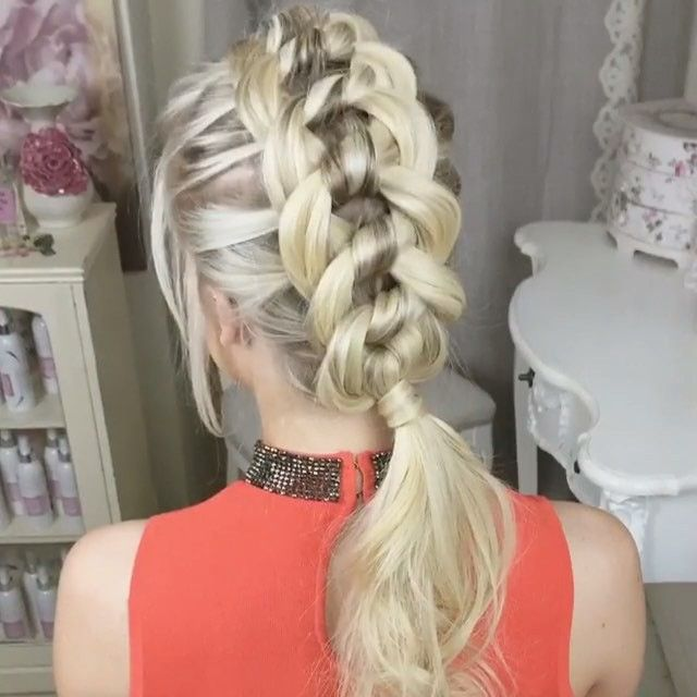 The Four Strand Knot Braid ϸ� By Sweethearts Hair Design