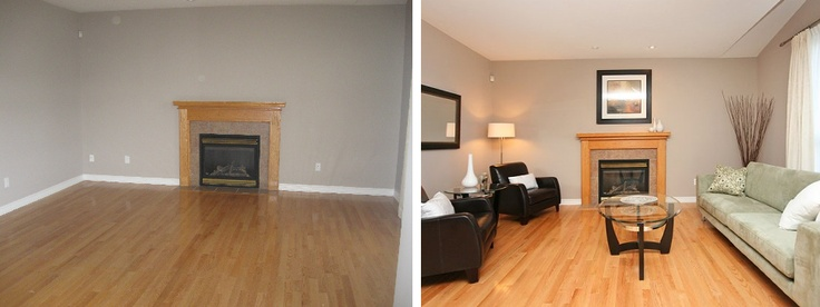 Capital home staging design before and after pictures portfolio great work www for Capital home staging and design