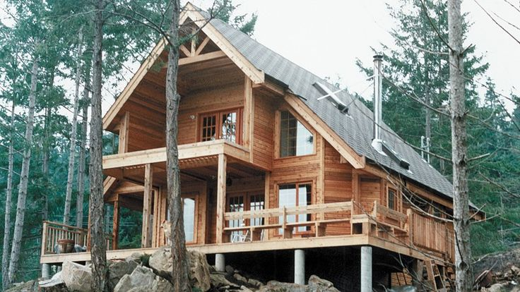Chalet Home Plans – Chalet Home Designs from HomePlans.com