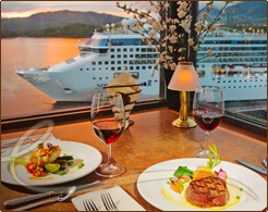 Looking for a unique dining experience? How about the Waterfront Restaurant at the Crest Hotel in Prince Rupert? #Travel #BC