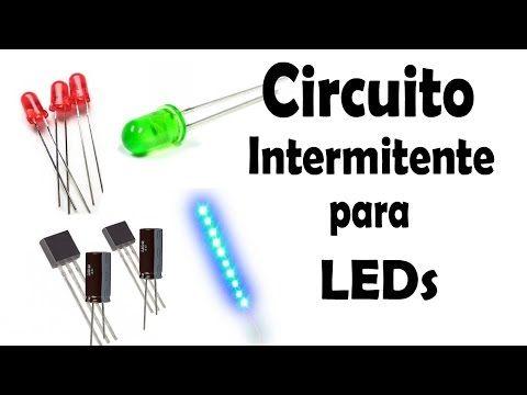 Cómo Hacer un Circuito Intermitente para LEDs y Tiras LED (Muy fácil de hacer) - YouTube