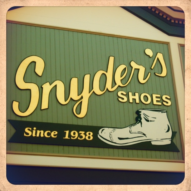 Snyder S Shoes Manistee Michigan