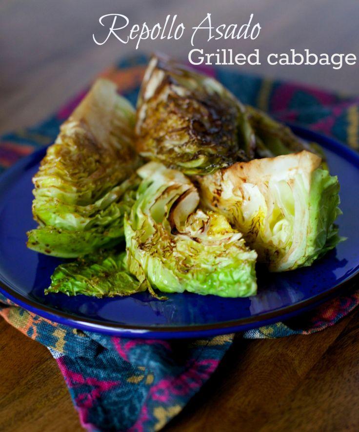 Repollo asado / Grilled cabbage | www.enmicocinahoy.cl