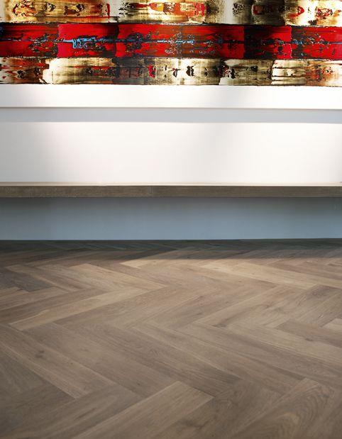 33 best Houten visgraat vloeren images on Pinterest Flooring - laminat f r k chen