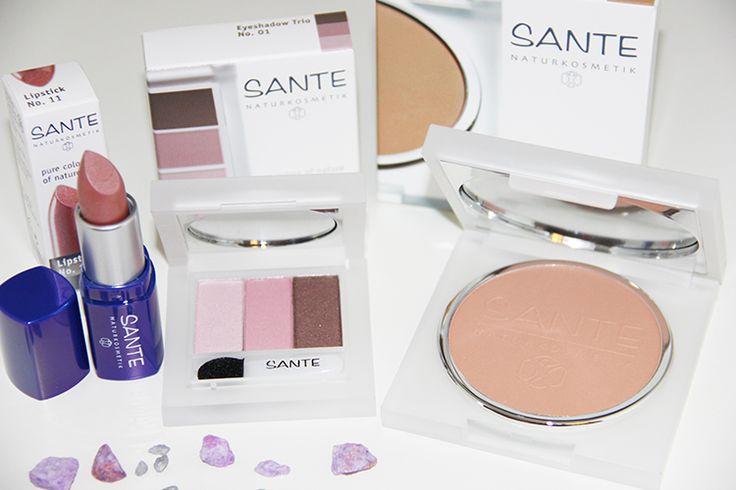 Maquillaje ecológico SANTE a base de principios naturales. Sin colorantes, conservantes químicos ni siliconas. Una amplia gama de colores y texturas para todo tipo de piel.