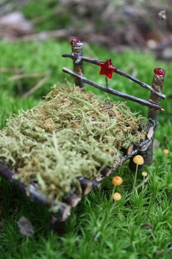 DIY Fairy Garden Furniture