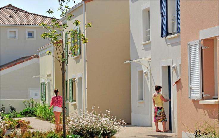 Les villas individuelles de la résidence