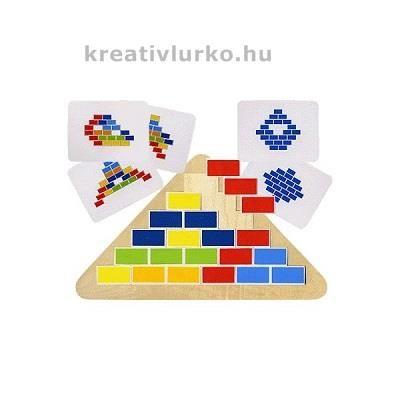 Téglás mozaik kirakó www.kreativlurko.hu