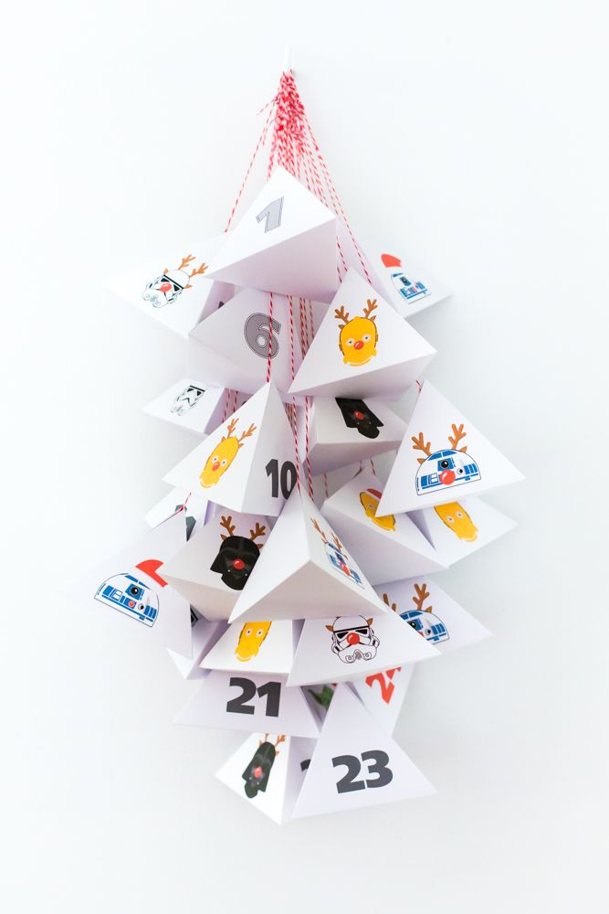 DIY Star Wars advent calendar
