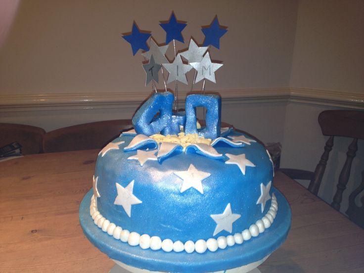 40th cake | Cake ideas | Pinterest
