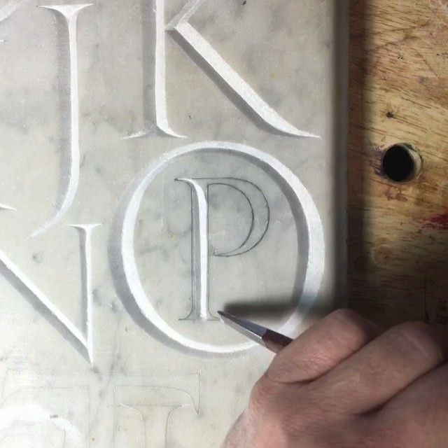 After several requests, here is a short video of the early process of stone…