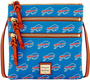 Dooney & Bourke NFL Bills Triple Zip Crossbody