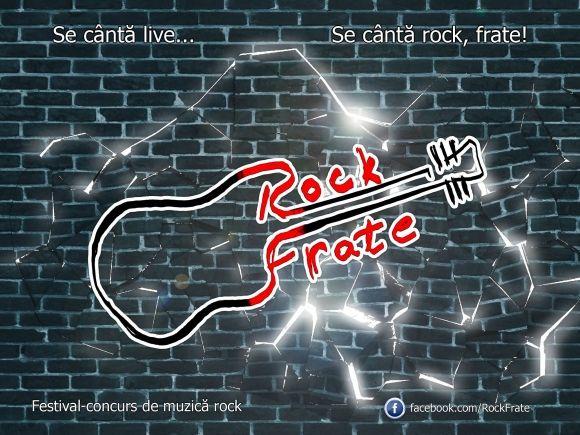 Faci parte dintr-o trupă rock și aveți cel puțin 3 compoziții proprii? Atunci Rock Frate este festivalul vostru!Rock  ...