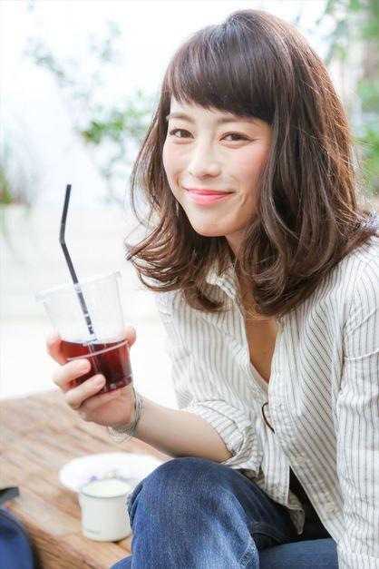 【MINX】30代40代大人のためのリラックスミディ   銀座の美容室 MINX 銀座店のヘアスタイル   Rasysa(らしさ)