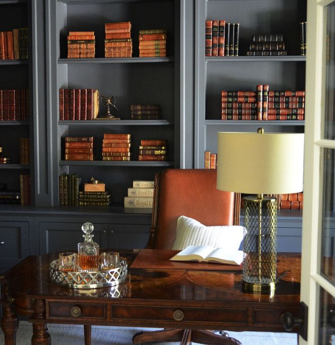 Top 28 Home Library Paint Colors Home Libraries