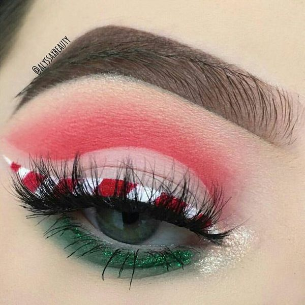 11 Christmas Make Up Ideas you need to know now to go to any Christmas Dinner, get together, custom parties, even to off…