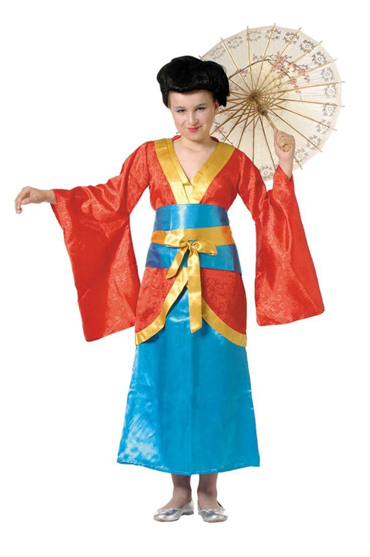 Disfraces Infantiles de japonesa