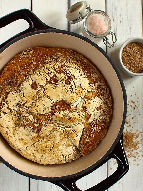 Chleb pszenny z garnka (zwany też