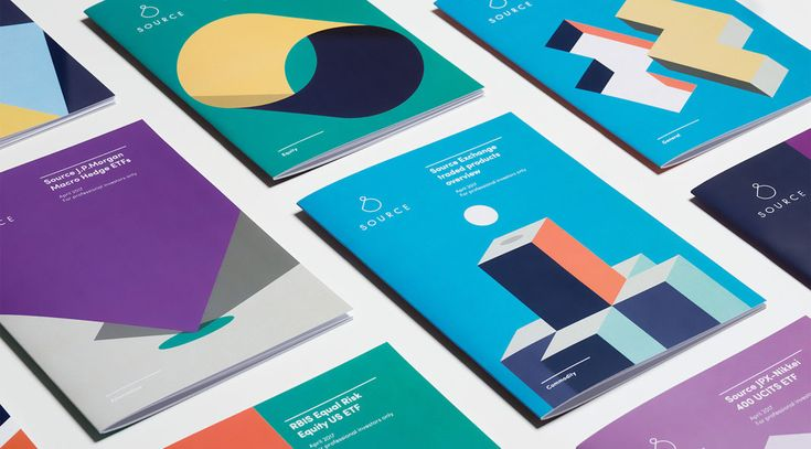 A game-changing visual identity developed by agency Mother Design for investment firm, Source. Over several decades, the worldwide investment business was