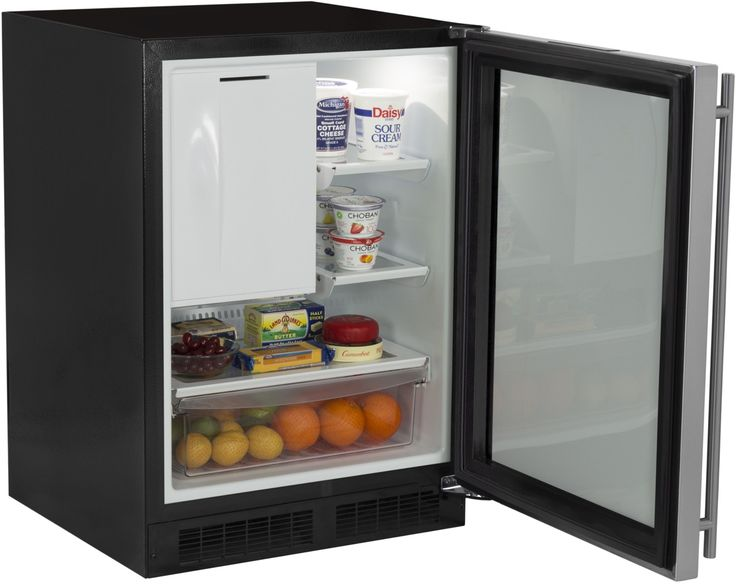 "24"" Refrigerator Freezer with Drawer Storage | Marvel Refrigeration"