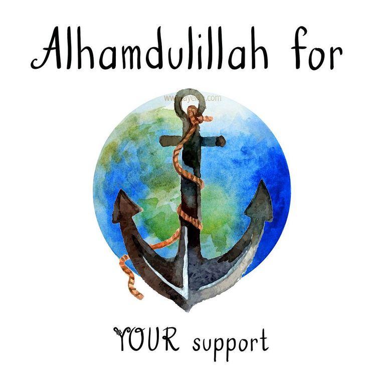 Alhamdulillah for YOUR support #AlhamdulillahForSeries