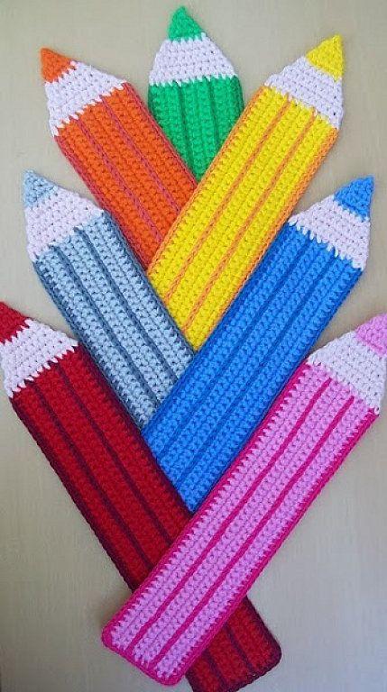 estuches tejidos a crochet - Buscar con Google