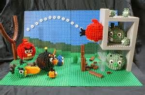 We have featured several Angry Birds themed LEGO creations. But ...