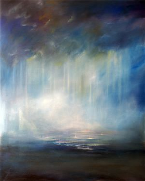 Heaven's Rain, Christian Art, Anna Sophia   This reminds me of some of your artwork.  Are you familiar with the artist?