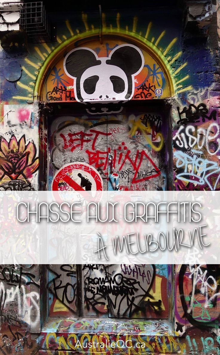 Chasse aux graffitis à Melbourne